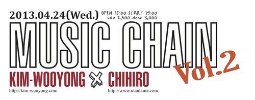 MUSIC CHAIN Vol2 バナー