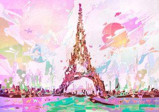 パリのセーヌ河岸 フランス共和国